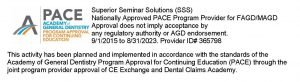 AGD PACE approved program provider